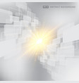 abstract gray and white background technology vector image