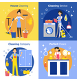 Cleaning People Concept vector image