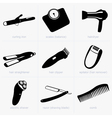 Household objects vector image