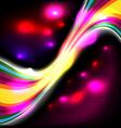 dark glow background vector image vector image