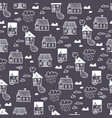 s town9spring town seamless pattern vector image