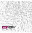 Absract halftone geometric background vector image