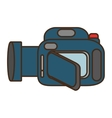cartoon camera video icon design vector image