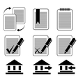icons 8 vector image