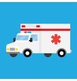 ambulance car Isometric vector image
