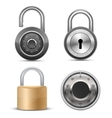 Collection of locks vector image