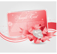 cards templates with heart vector image vector image