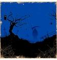Grim in Halloween night vector image