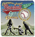 Grandslam 9th baseball champ vector image