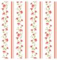 Color flower wallpaper vector image