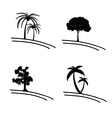 tree icon and symbol vector image