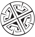Celtic Crosses vector image vector image