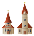 Church and Chapel vector image vector image