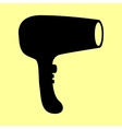 Hair Dryer sign vector image