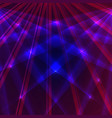 laser background with blue and violet rays vector image