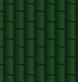 Textured ornament with dark green bamboo vector image