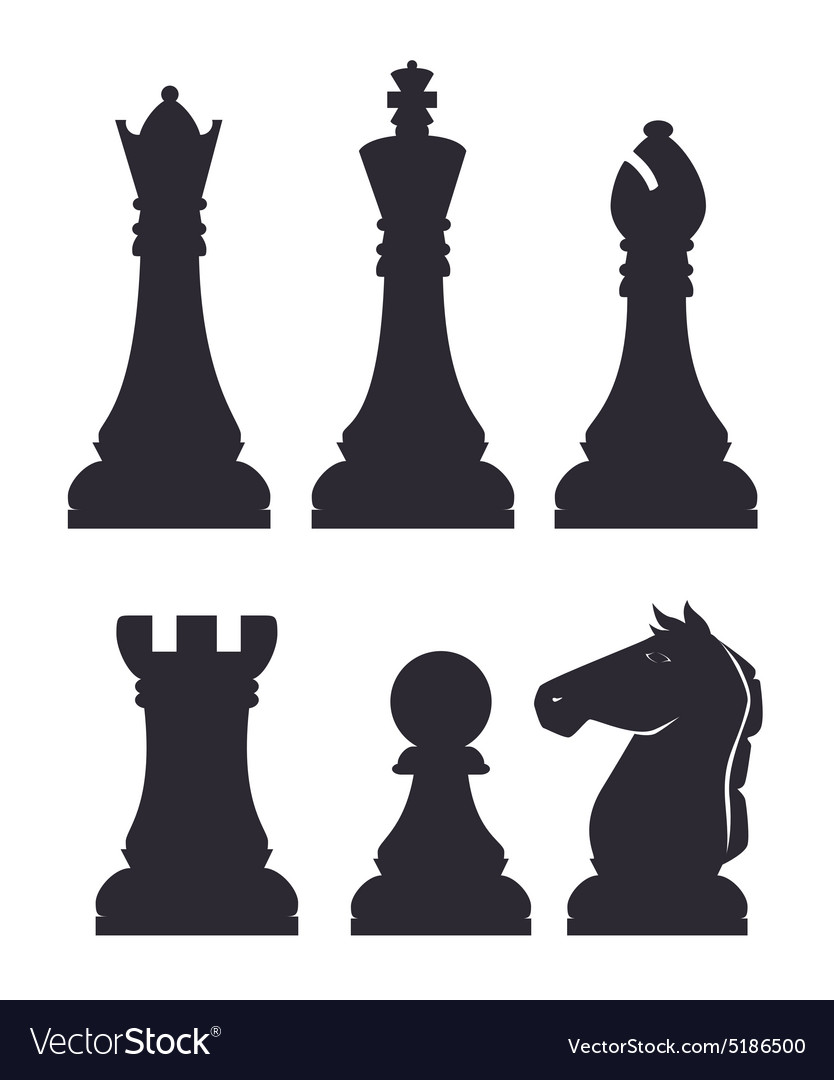 Chess design vector