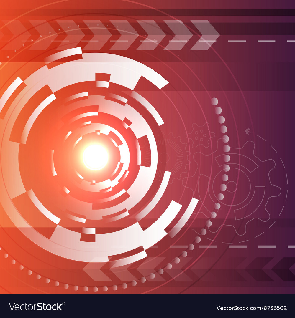 Lens design background vector