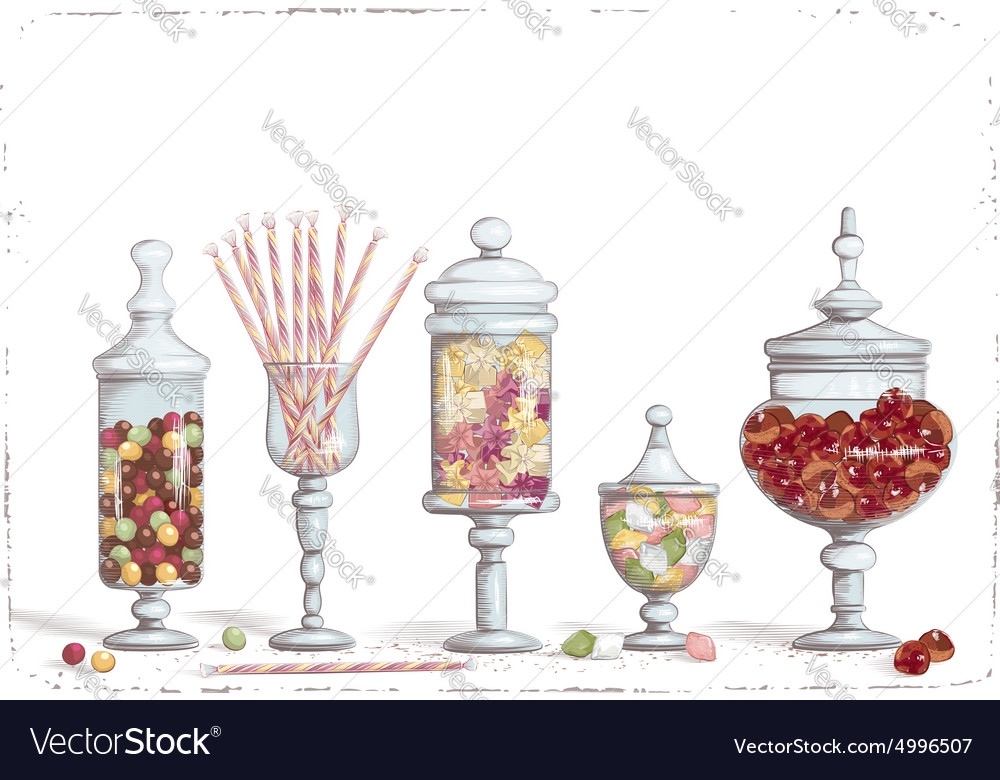 Candy bar vector