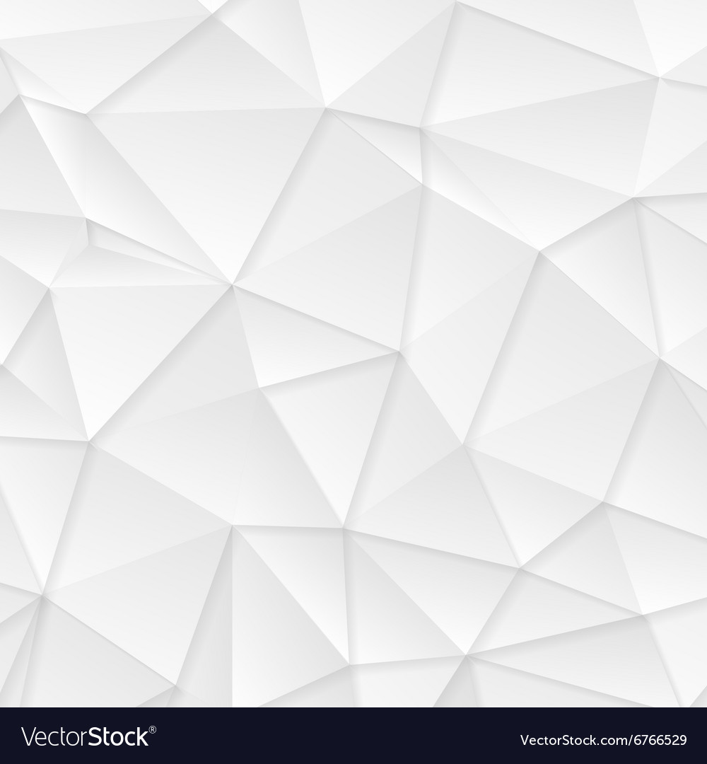 Polygonal abstract grey tech background vector