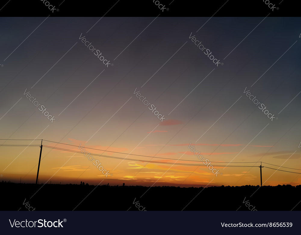 Sunrise 2 vector