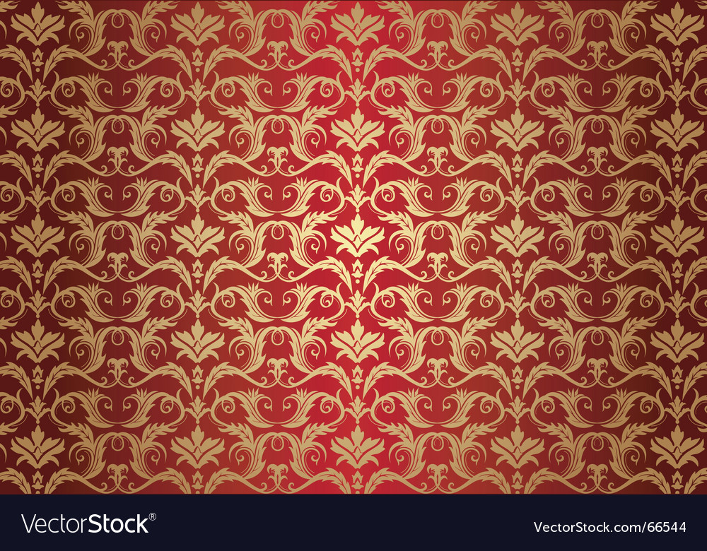 Vintage gold background vector