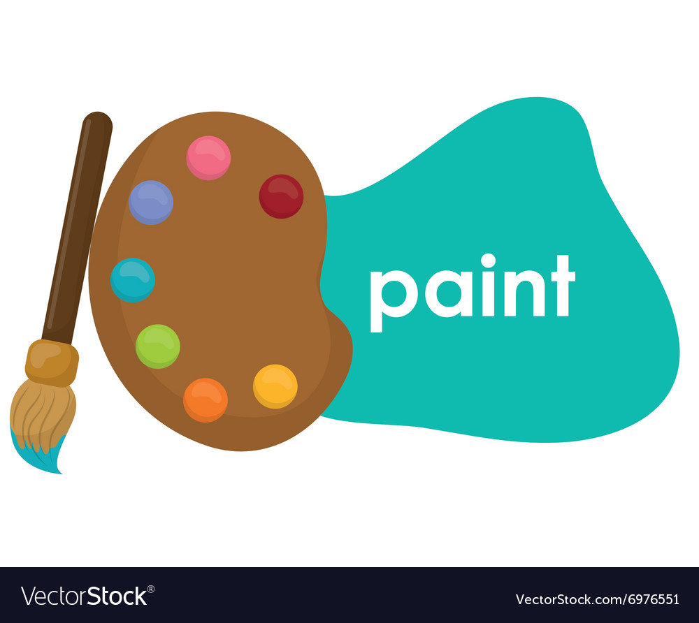 Paint icon design vector