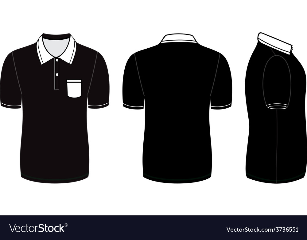 Polo shirt design templates vector
