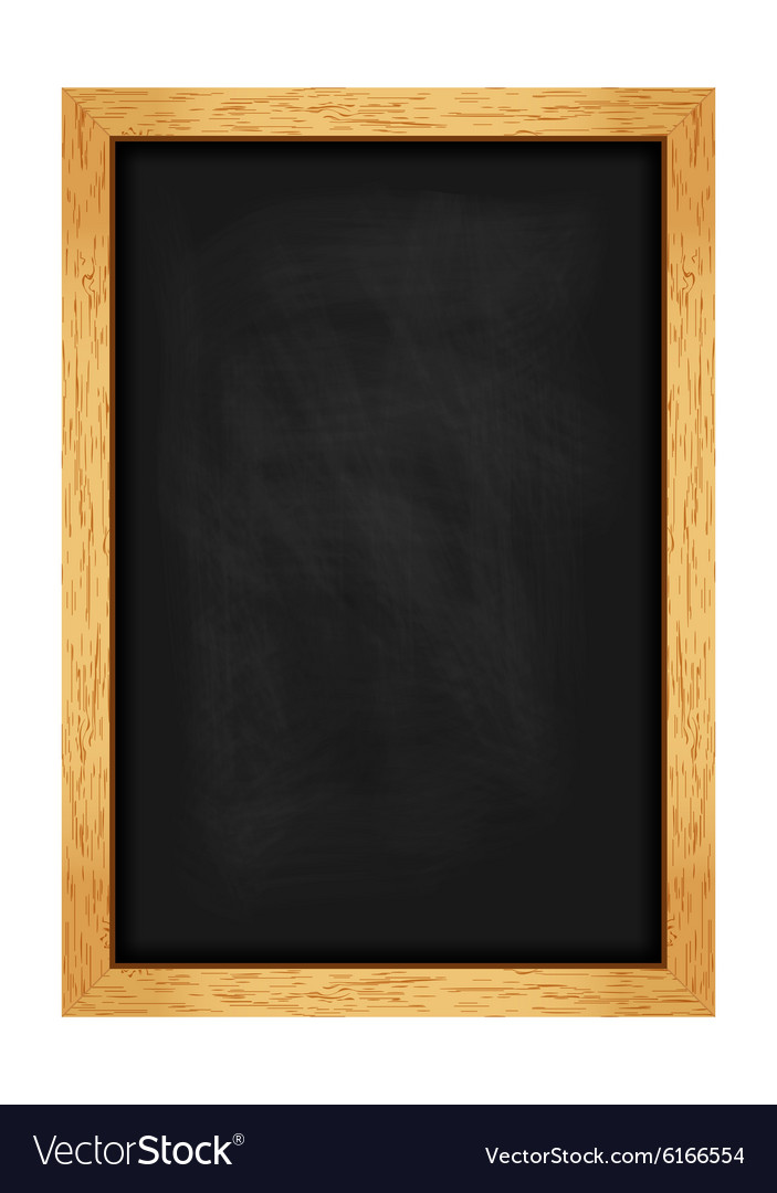 Menu chalkboard for cafes and restaurants vector