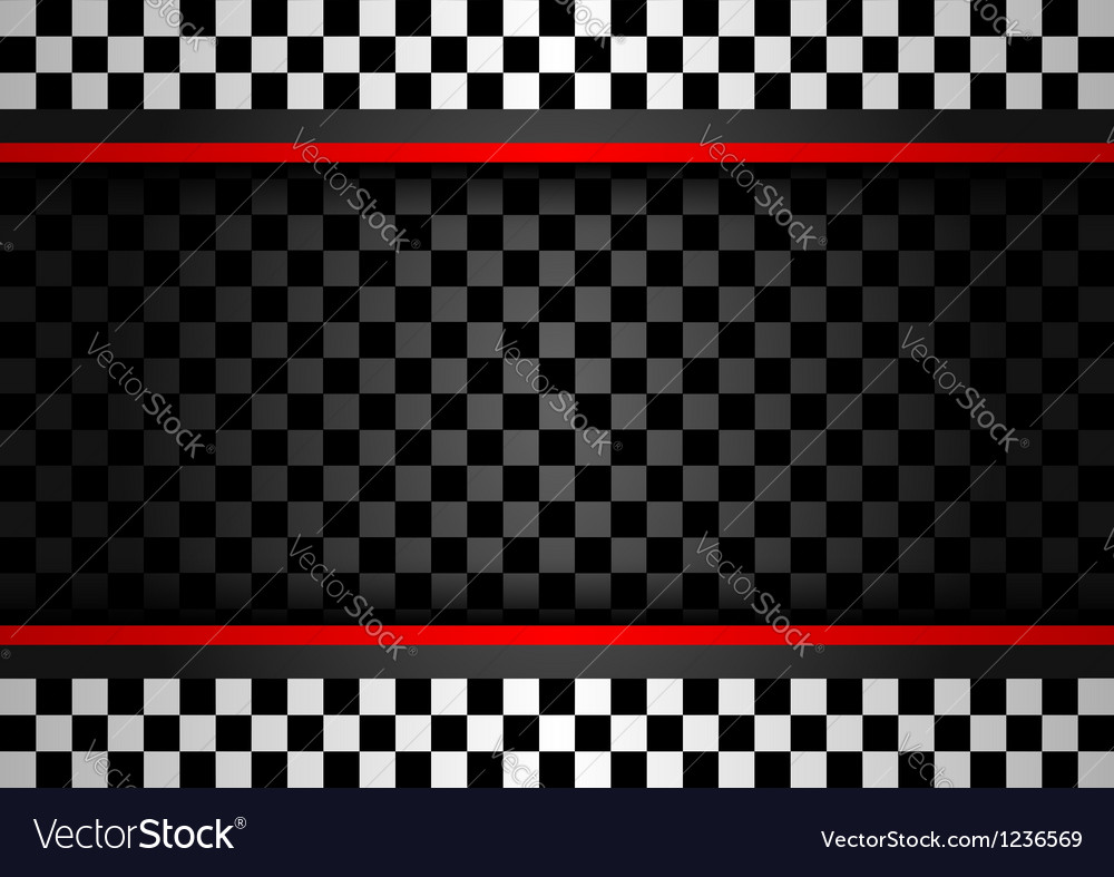 Racing horizontal backdrop vector