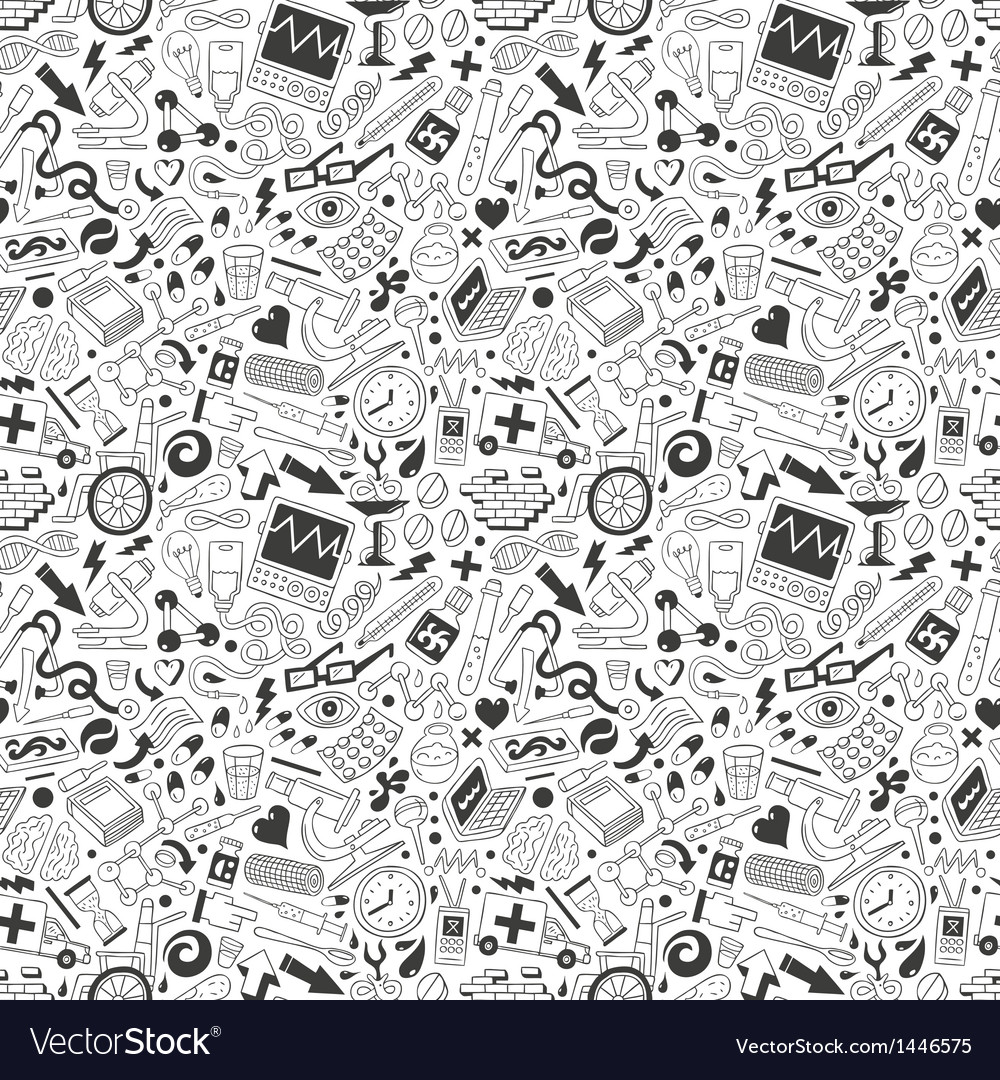 Medicine  seamless background vector
