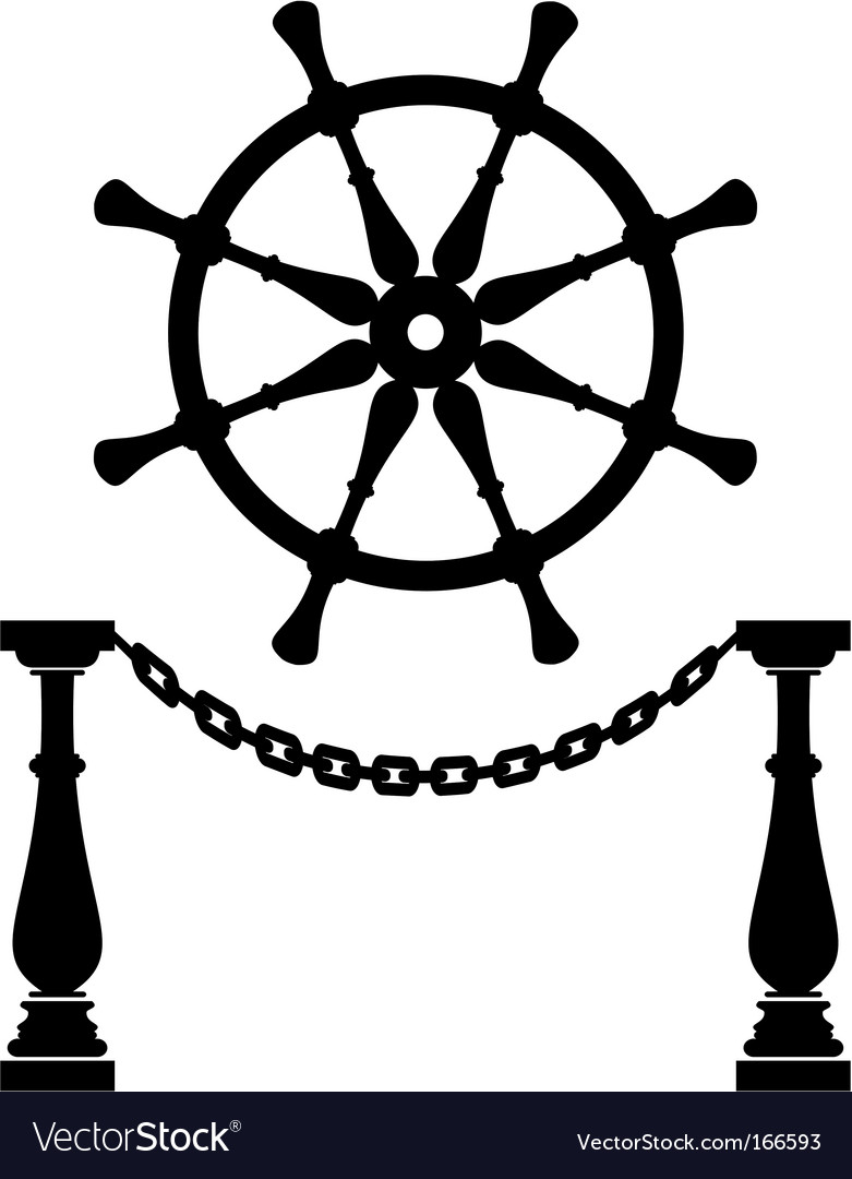Anchor silhouette vector
