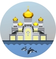 emblem Orthodox Church vector image