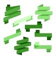 Infographics Creative trendy ribbon flat business vector image