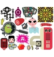 Mix of different images vol59 vector image