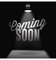 Coming soon sale poster vector image vector image