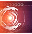Lens design background vector image
