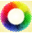 abstract kaliedoscope flower vector image vector image