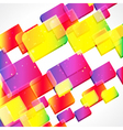 Multicolor abstract bright background Elements for vector image vector image