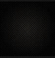black grid seamless background vector image