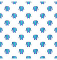 hipster style pattern seamless vector image