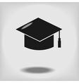 Education cap vector image