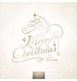 1410001 merry christmas typography handwriting vector