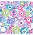 Seamless mix floral vector image vector image