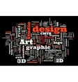 Graphic design studio vector image vector image