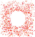 Paint Splash Spray Abstract Blot of Dots Explosion vector image