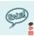 Sale icon isolated vector image