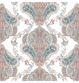Vintage oriental ornament pattern vector image