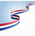 Dutch flag background vector image vector image