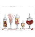 Candy bar vector image